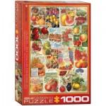 Puzzle  Eurographics-6000-0818 Catalogue des Semences de Fruits