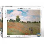 Puzzle  Eurographics-6000-0826 Claude Monet : Les Coquelicots