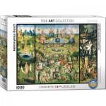 Puzzle  Eurographics-6000-0830 Heironymus Bosch - Le Jardin des Délices