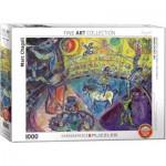 Puzzle  Eurographics-6000-0851 Marc Chagall - Le Cheval de Cirque
