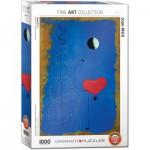 Puzzle  Eurographics-6000-0854 Joan Miro - Ballerina II