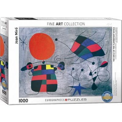 Puzzle Eurographics-6000-0856 Joan Miro - Le Sourire aux Ailes Flamboyantes