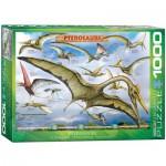 Puzzle  Eurographics-6000-0860 Dinosaures - Ptérosaures