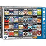 Puzzle  Eurographics-6000-0870 VW Bus - Cool Faces