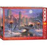 Puzzle  Eurographics-6000-0915 Dominic Davison : Christmas Eve in New York City