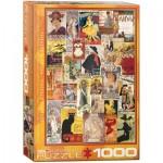Puzzle  Eurographics-6000-0935 Anciennes Affiches de Théâtre et d'Opéra