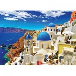 Puzzle  Eurographics-6000-0944 Santorin