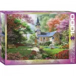 Puzzle  Eurographics-6000-0964 Dominic Davison - Jardin Fleuri