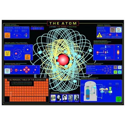 Puzzle Eurographics-6000-1002 L'atome