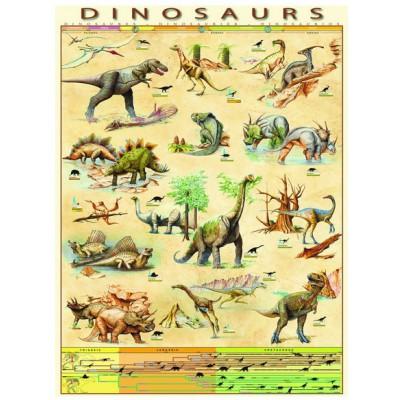 Puzzle Eurographics-6000-1005 Les Dinosaures