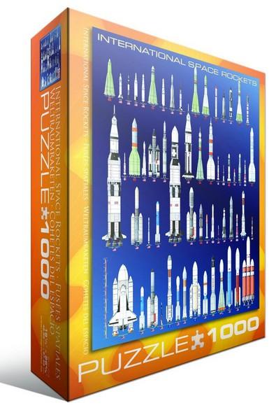 Puzzle Eurographics-6000-1015 Fusées spatiales internationales