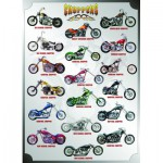Puzzle  Eurographics-6000-1021 Motos : Choppers