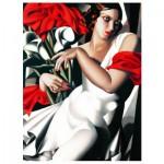 Puzzle  Eurographics-6000-1205 Tamara De Lempicka : Portrait d'Ira