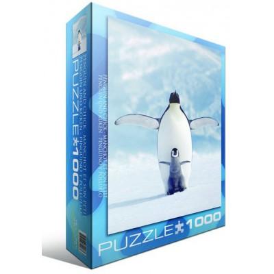Puzzle Eurographics-6000-1246 Pingouin et son petit