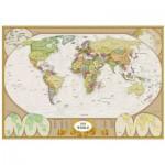 Puzzle  Eurographics-6000-1272 Carte du monde moderne
