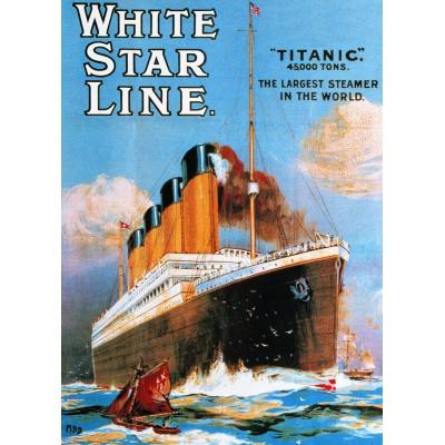 Puzzle Eurographics-6000-1333 Titanic