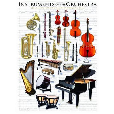 Puzzle Eurographics-6000-1410 Instruments de musique