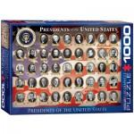 Puzzle  Eurographics-6000-1432 Présidents des Etats-Unis