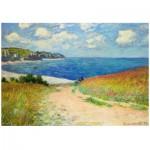 Puzzle  Eurographics-6000-1499 Claude Monet - Chemin dans les Bles a Pourville