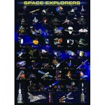 Puzzle  Eurographics-6000-2001 Sondes Spatiales NASA
