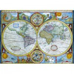 Puzzle  Eurographics-6000-2006 Carte du monde antique