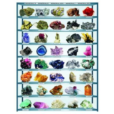 Puzzle Eurographics-6000-2008 Les minéraux du Monde
