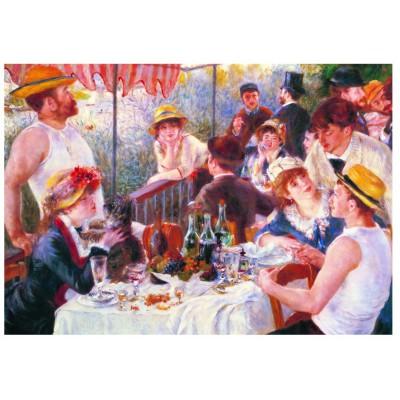 Puzzle Eurographics-6000-2031 Pierre-Auguste Renoir : Le Dejeuner des Canotiers