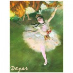 Puzzle  Eurographics-6000-2033 Edgar Degas : L'étoile