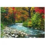 Puzzle  Eurographics-6000-2132 Cours d'eau dans la Forêt