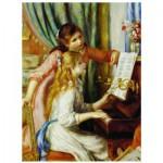 Puzzle  Eurographics-6000-2215 Pierre-Auguste Renoir : Jeune fille au piano