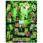 Puzzle  Eurographics-6000-2790 La Forêt tropicale