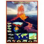 Puzzle  Eurographics-6000-2998 Les volcans