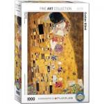 Puzzle  Eurographics-6000-4365 Gustave Klimt - Le Baiser