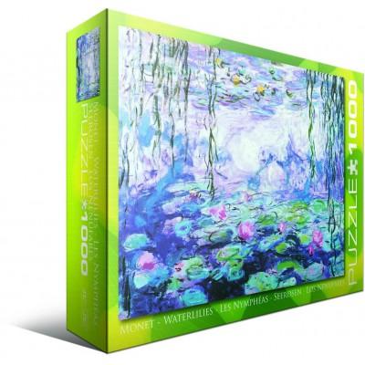 Puzzle Eurographics-6000-4366 Monet Claude : Les Nénuphars