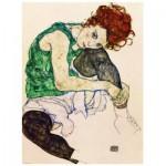 Puzzle  Eurographics-6000-4539 Egon Schiele : L'artiste