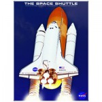 Puzzle  Eurographics-6000-4954 La Navette spatiale Atlantis NASA