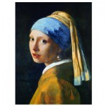Puzzle  Eurographics-6000-5158 Vermeer Johannes : La Jeune Fille à la Perle, 1665