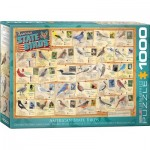 Puzzle  Eurographics-6000-5327 American State Birds