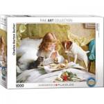 Puzzle  Eurographics-6000-5329 Charles Burton Barber - Suspense