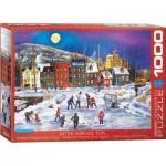Puzzle  Eurographics-6000-5335 Patricia Bourque - Divertissement après l'école
