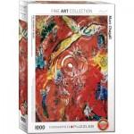 Puzzle  Eurographics-6000-5418 Marc Chagall - Le Triomphe de la Musique