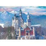 Puzzle  Eurographics-6000-5419 Neuschwanstein en Hiver, Allemagne