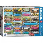 Puzzle  Eurographics-6000-5422 VW Beetle - Gone Places