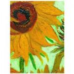 Puzzle  Eurographics-6000-5429 Vincent Van Gogh : Vase avec Douze Tournesols (détail)