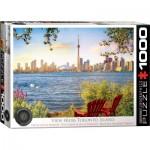 Puzzle  Eurographics-6000-5434 Vue sur Toronto