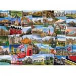 Puzzle  Eurographics-6000-5464 Globetrotter Royaume Uni