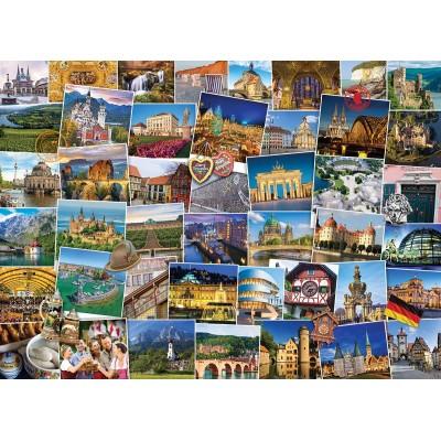 Puzzle Eurographics-6000-5465 Globetrotter Allemagne