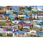 Puzzle  Eurographics-6000-5466 Globetrotter France