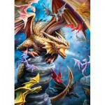 Puzzle  Eurographics-6000-5475 Anne Stockes - Clan de Dragons