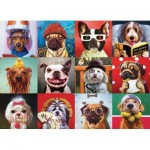 Puzzle  Eurographics-6000-5523 Funny Dogs